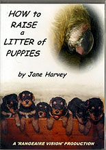 How to Raise a Litter of Puppies by Jane Harvey