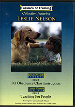 Pet Obedience Class Instruction & Teaching Pet People Seminar by Leslie Nelson