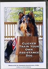 Clicker Train Your Own Assistance Dog by Barbara Handelman